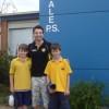 School visits by Robbie Castello