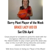 Barry Plant Player of the Week - Winter 2008