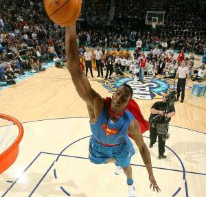 Dwight Dunks Way to Sprite Slam Dunk Title