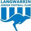 Langwarrin White U10s Logo