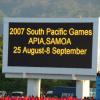 Samoa - SPG 07 - Opening Ceremony