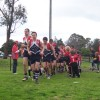 Auskick game at Seniors 1/8/09