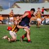Round 1 - Diggers v Woodend 10.4.2010