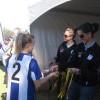 Lena Khamis & Kyah Simons, Sydney FC & Matildas, with Beecroft