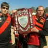 Blashy & mate with the 2nds shield