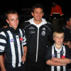 Collingwood Premiership stars pay a visit 2011