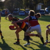 Footy and Netball 16/7/2011 v Pinnaroo
