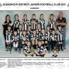 Junior team photo's 2011