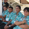 NC2011 Team Cook Islands Flag Raising Ceremony
