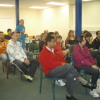 Parents at an information session