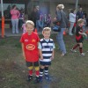 First day of Auskick for 2012 at Bonbeach