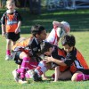 Under 7 Orange - Women in League Round 24/06/12