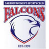 Darebin Falcons White Logo