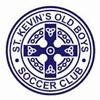 St Kevin's Old Boys SC WHITE Logo