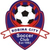 Robina City White Logo