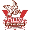 South Melbourne Districts U12 Girls Logo