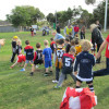Auskick action week 4 2013