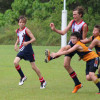 Under 14's Big Win Against Kawana in the Wet