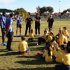 2013 School Football Launch at Bethany Primary