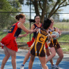 Round 9 Netball A Diggers v Woodend 15.6.2013