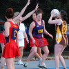 Round 9 Netball B Diggers v Woodend 15.6.2013