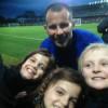 SAINTS FC young stars meet Ryan Griggs