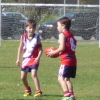 Under 8 Red V Bribie Island 21.7.13