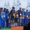 Athens Gold Medal presentation