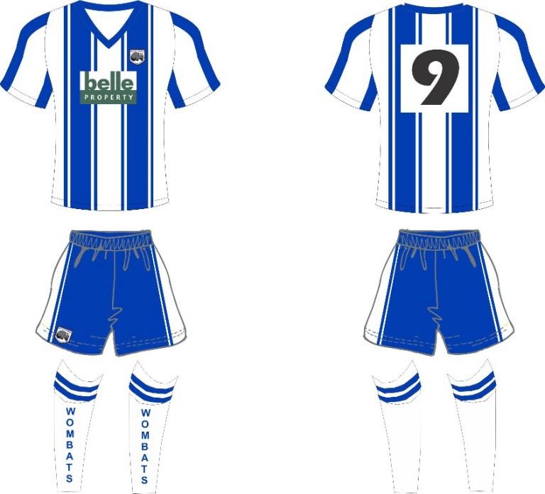 Beecroft FC Strip 2014