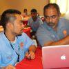 OSEP Mentor Talemo Waqa with Marshallese Kalani Nii