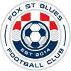 Fox St Blues FC Aqua Logo