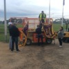 United Forklifts at the game 31 May 2014