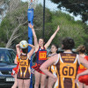 2014 R11 Netball Diggers v Woodend 28.6.14