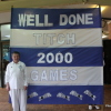 Titch's 2000th Milestone Game