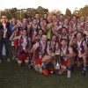 2014 Alberton Football Netball League grand final day