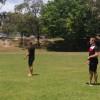 England Team visits Ashmore SS