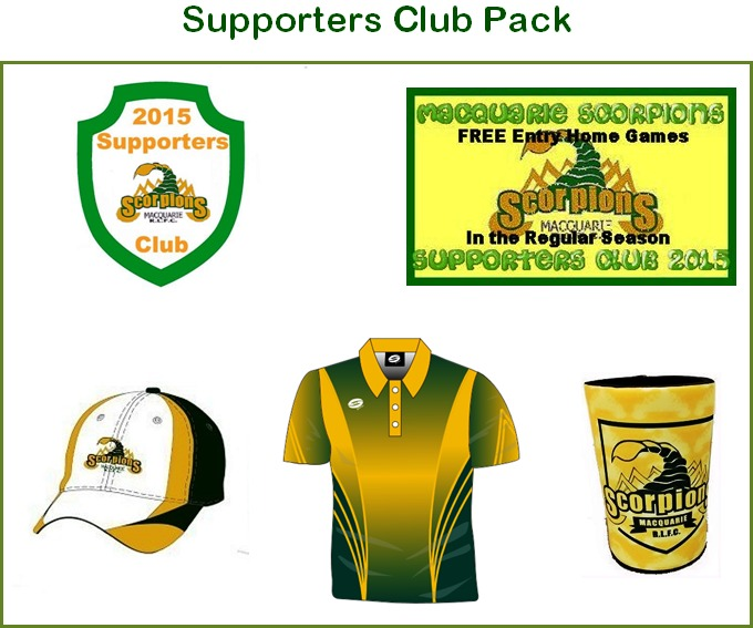 Supporters Club Macquarie Scorpions Fox Sports Pulse