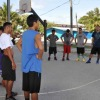 Coach Tom Newell's basketball clinics in Majuro 2013-2014