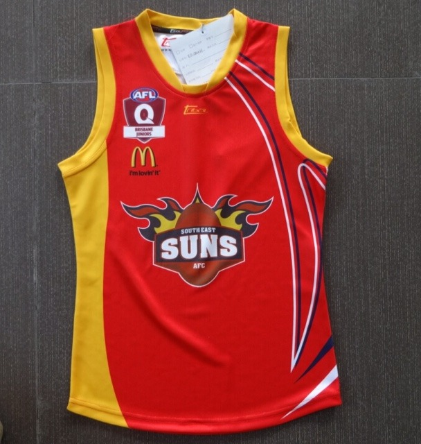 South East Suns Jersey