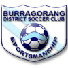 BURRAGORANG UNDER 8 WHITE Logo