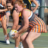 2015 - Round 1 Sea Lake Nandaly Tigers v Southern Mallee Giants (photo by Kathy Poulton)