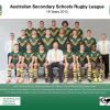 2015 Australian Team - New Zealand