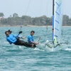 16 and 13 ft Skiff Nationals Hervey Bay 2015-16 - 16s Race 3, 13s Race 2