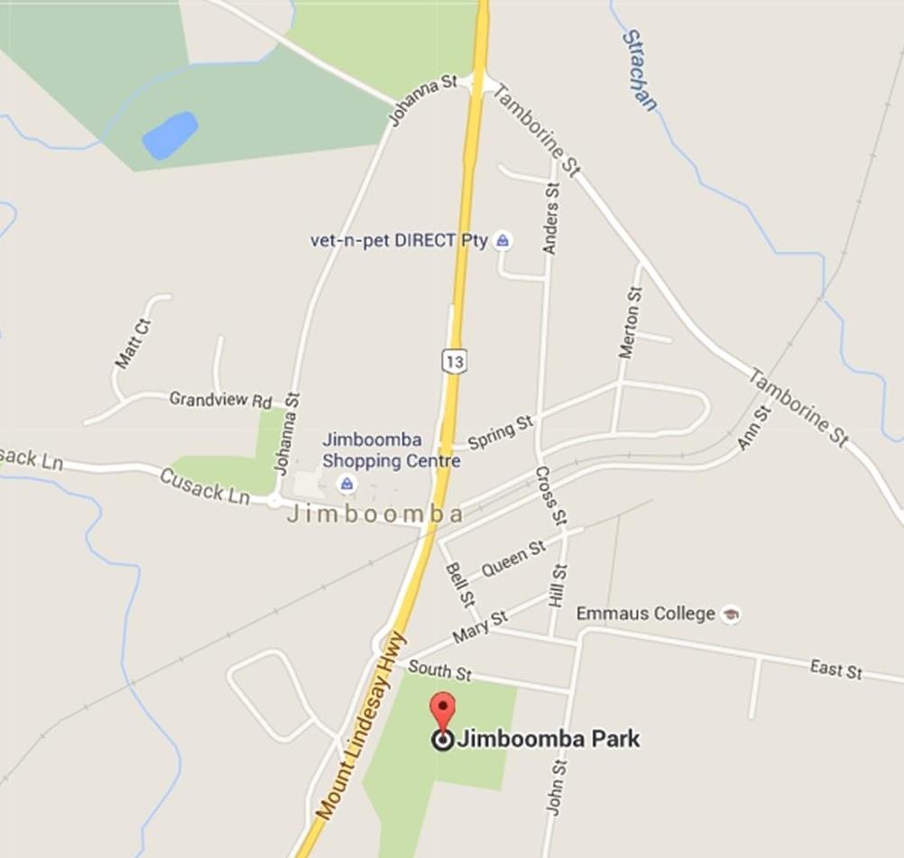 Jimboomba Park Map