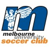 Melbourne University Soccer Club Blues Logo