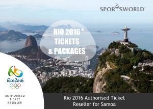 SportsWorld Rio 2016