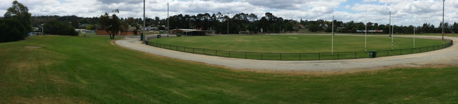 Garfield Footy Oval from South