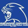 Vancouver Cougars Blue Logo