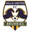 Hills Brumbies FC Logo