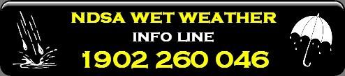 Wet Wheather Info